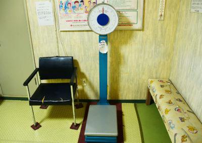 レトロな体重計