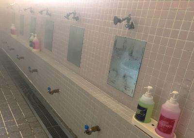 洗い場の雰囲気